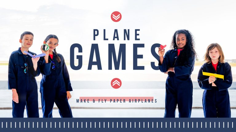 Plane Games: Make & Fly Paper Airplanes