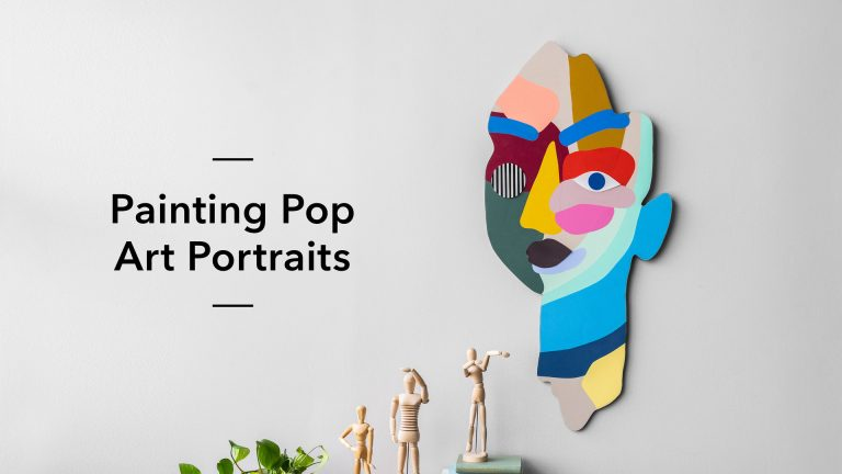 Painting Pop Art Portraits