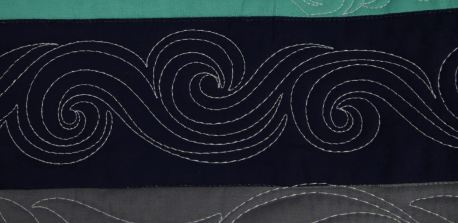 free-motion swirl chain