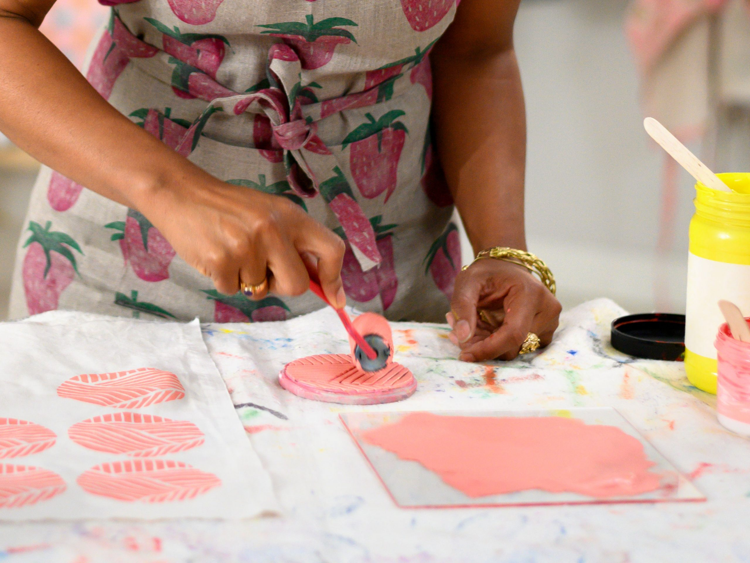 The Beginner S Guide To Block Printing So You Can Design Your Own Fabric Craftsy