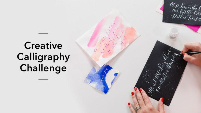 Creative Calligraphy Challenge