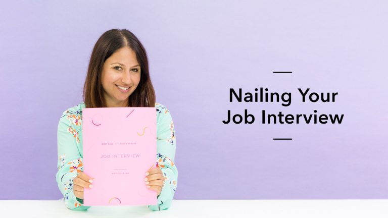Nailing Your Job Interview