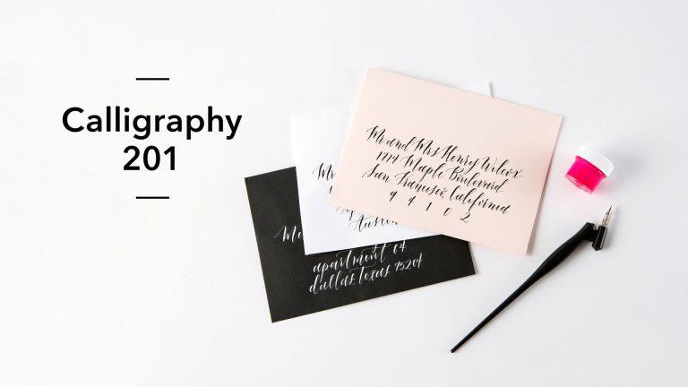 Calligraphy 201