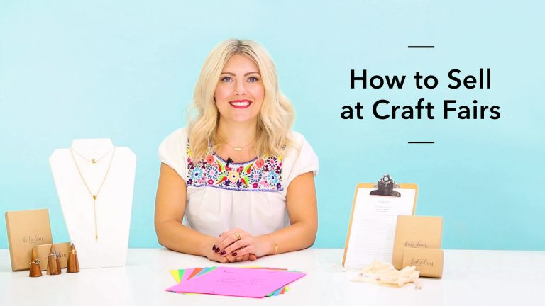 How to Sell at Craft Fairs