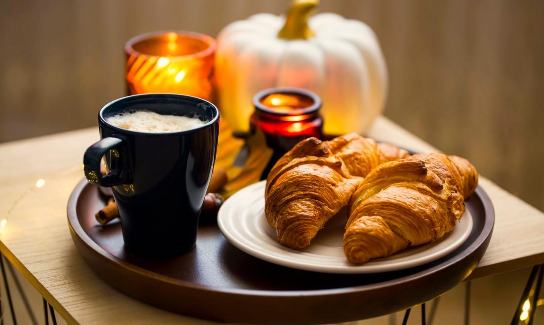 pumpkin croissants