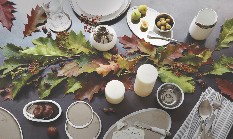 holiday natural table