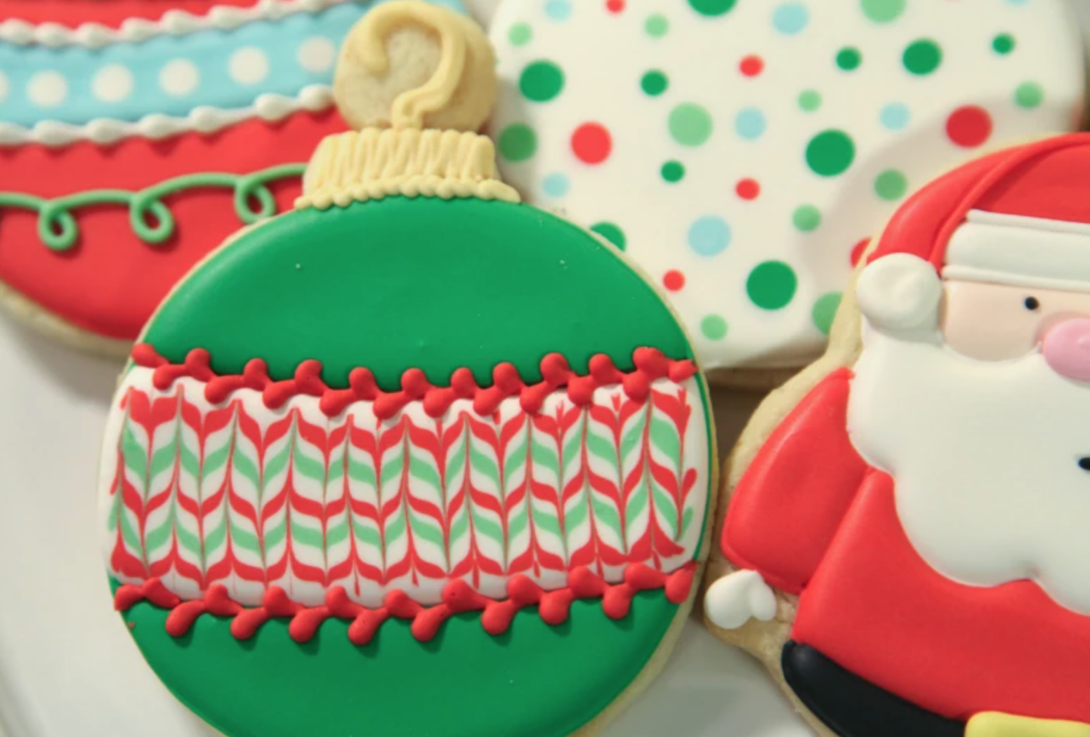 ornament christmas cookie