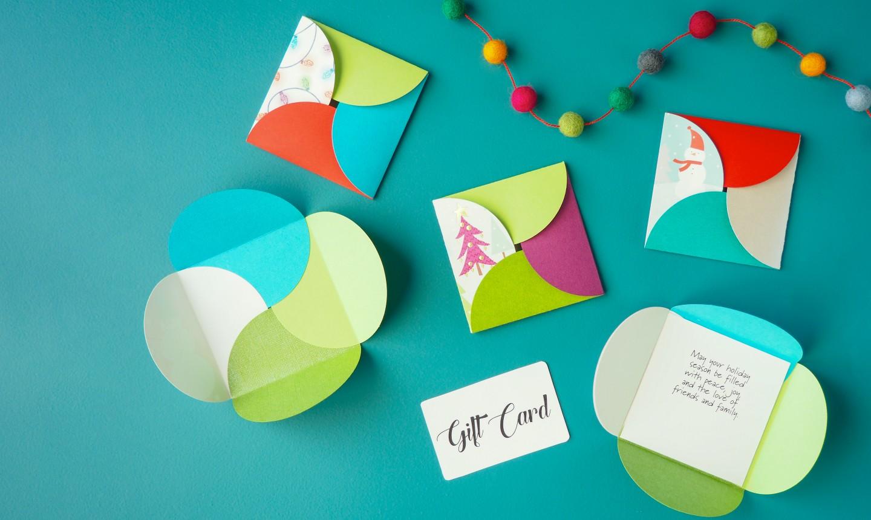 christmas cards gift holder