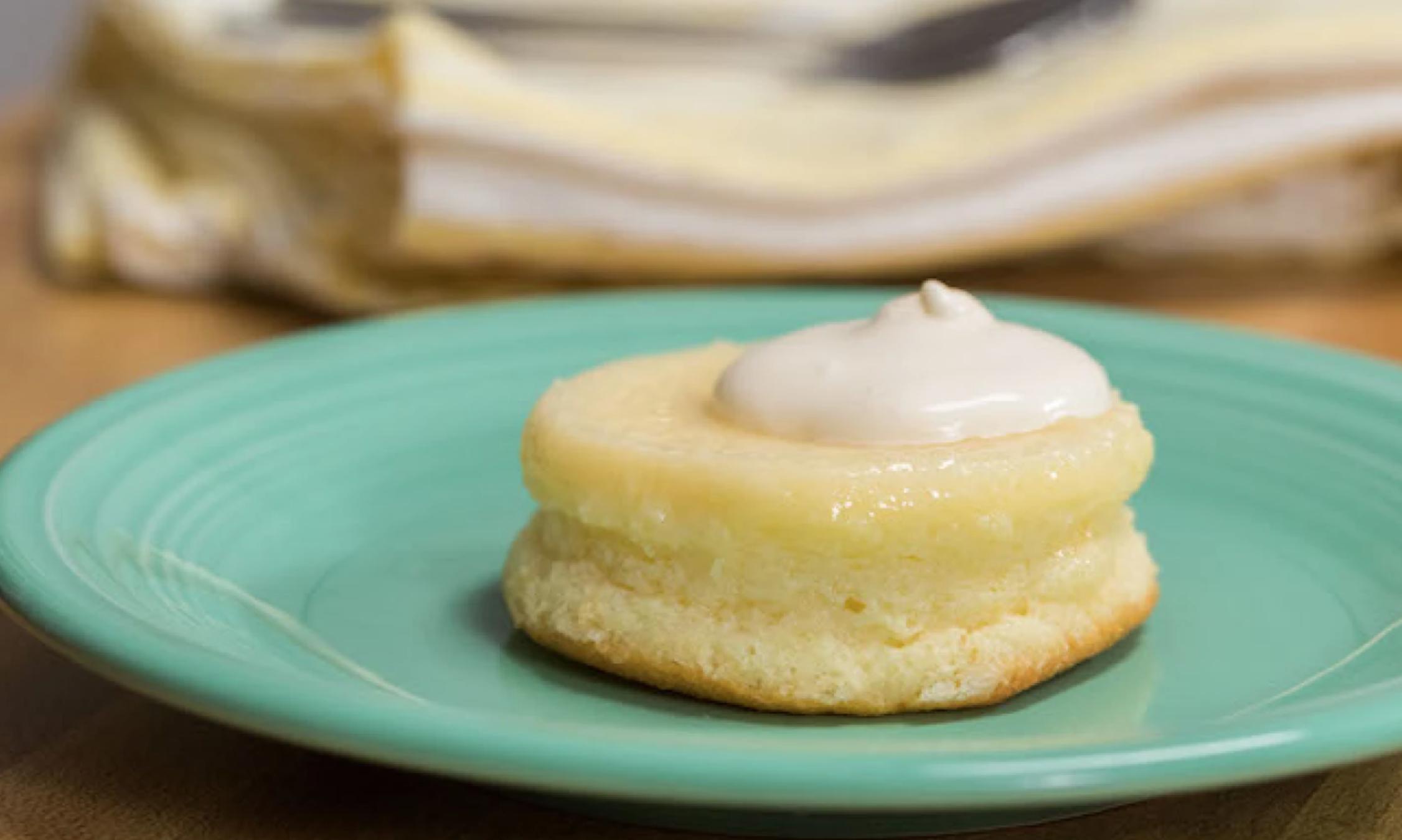 mini lemon pudding cake