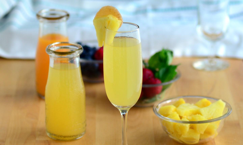 pineapple mocktail mimosa