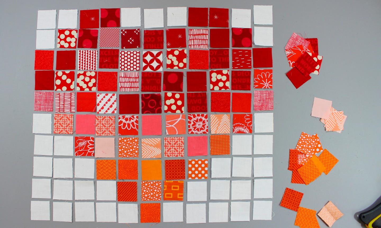 planning pixelated heart block