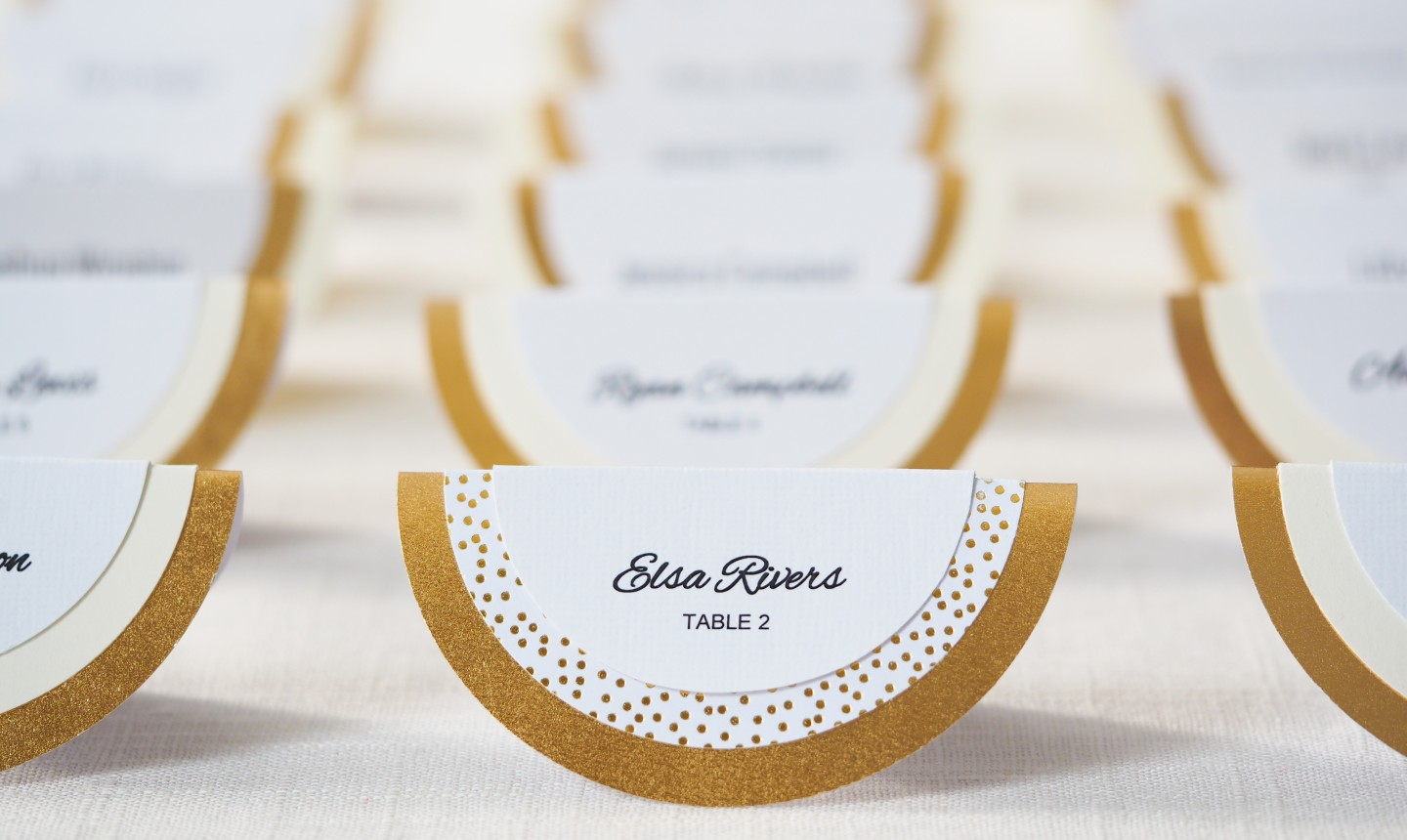 circle place cards