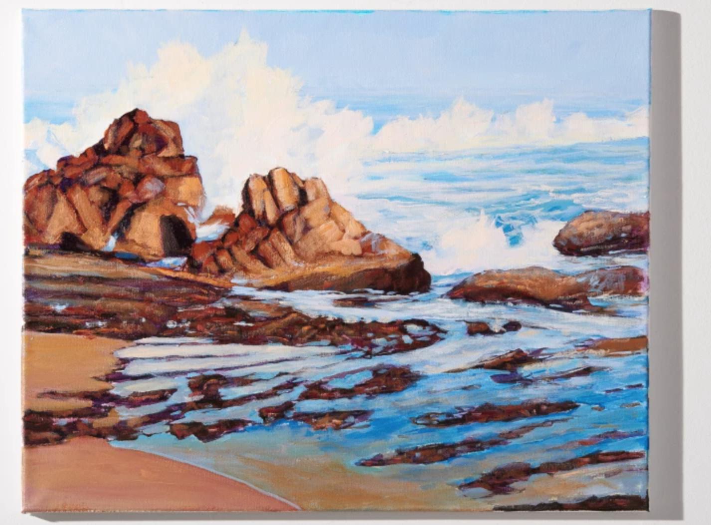 painted seascape