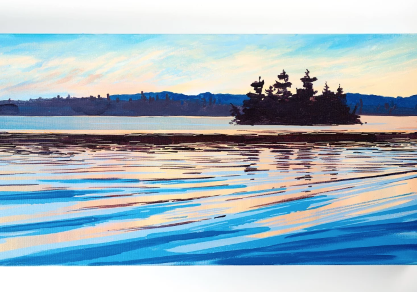 acrylic water painting