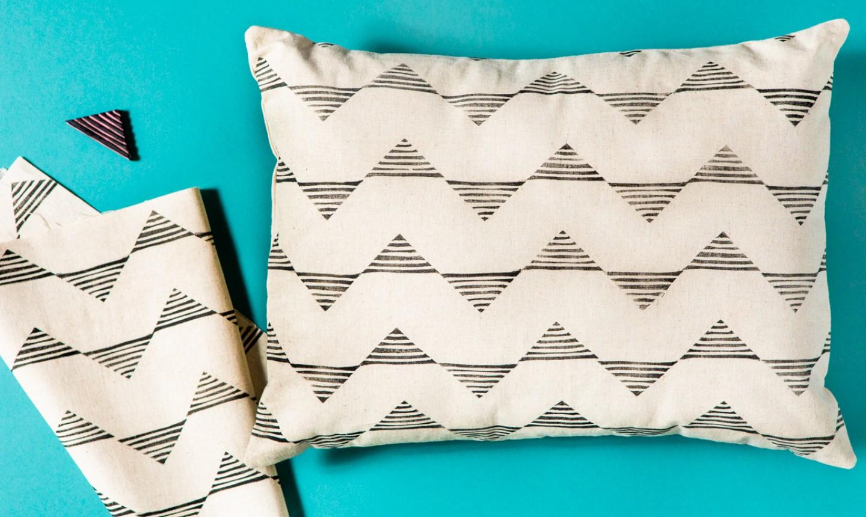 geometric pillow covers