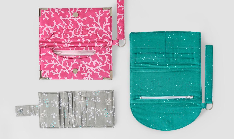 sewn clutches