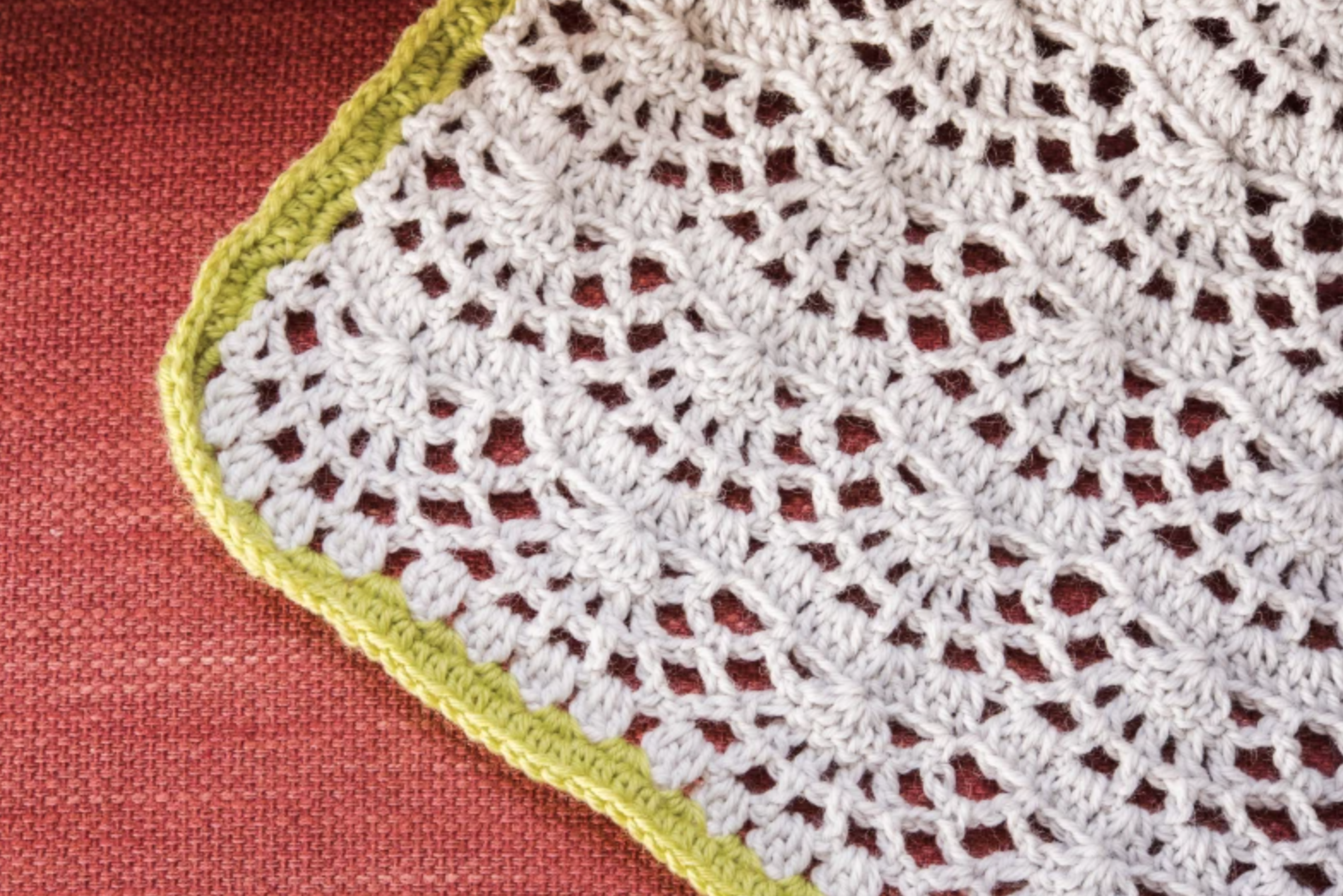 crochet lace afghan