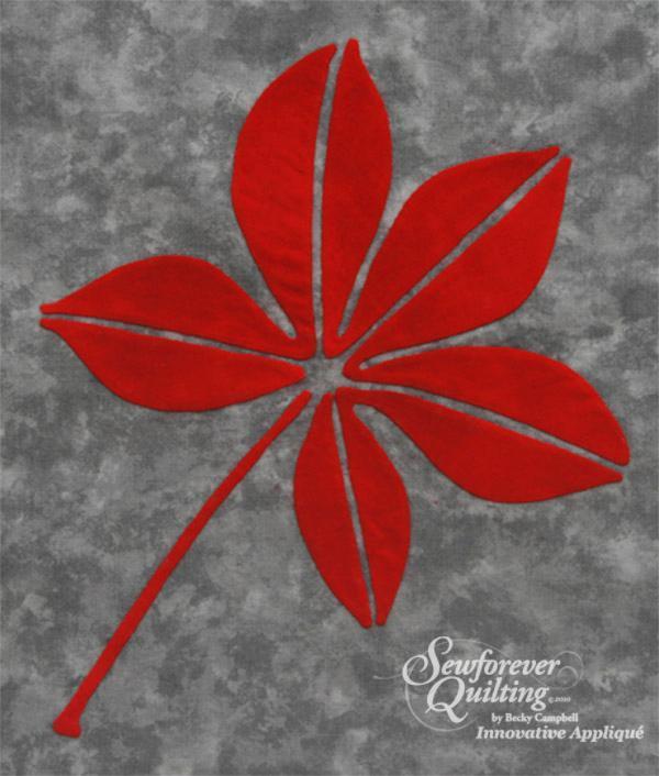 Buckeye Leaf pattern
