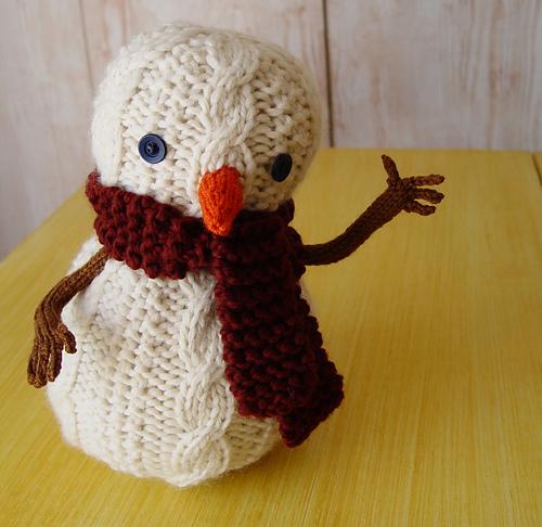oatmeal the snowman