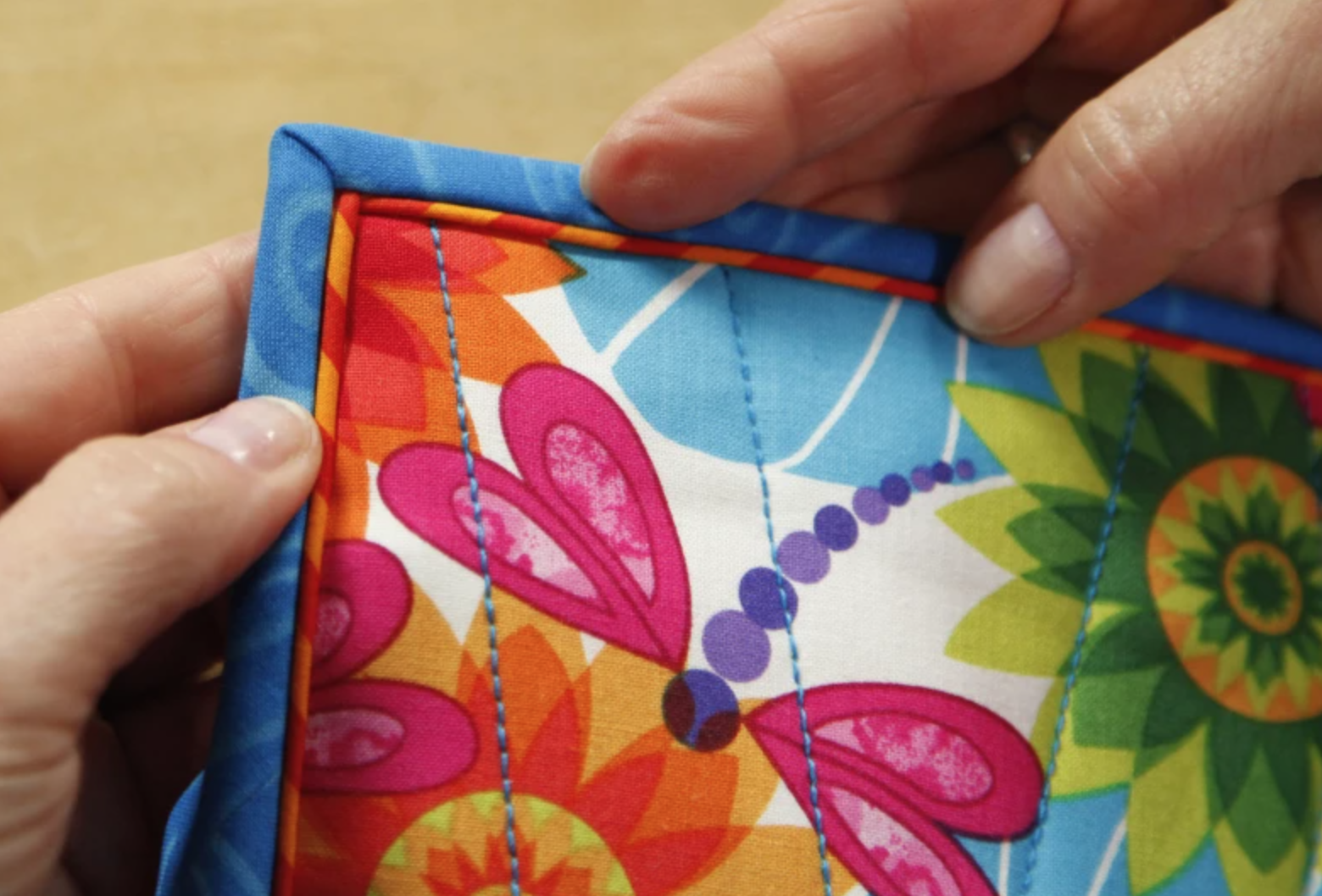 piping quilt binding