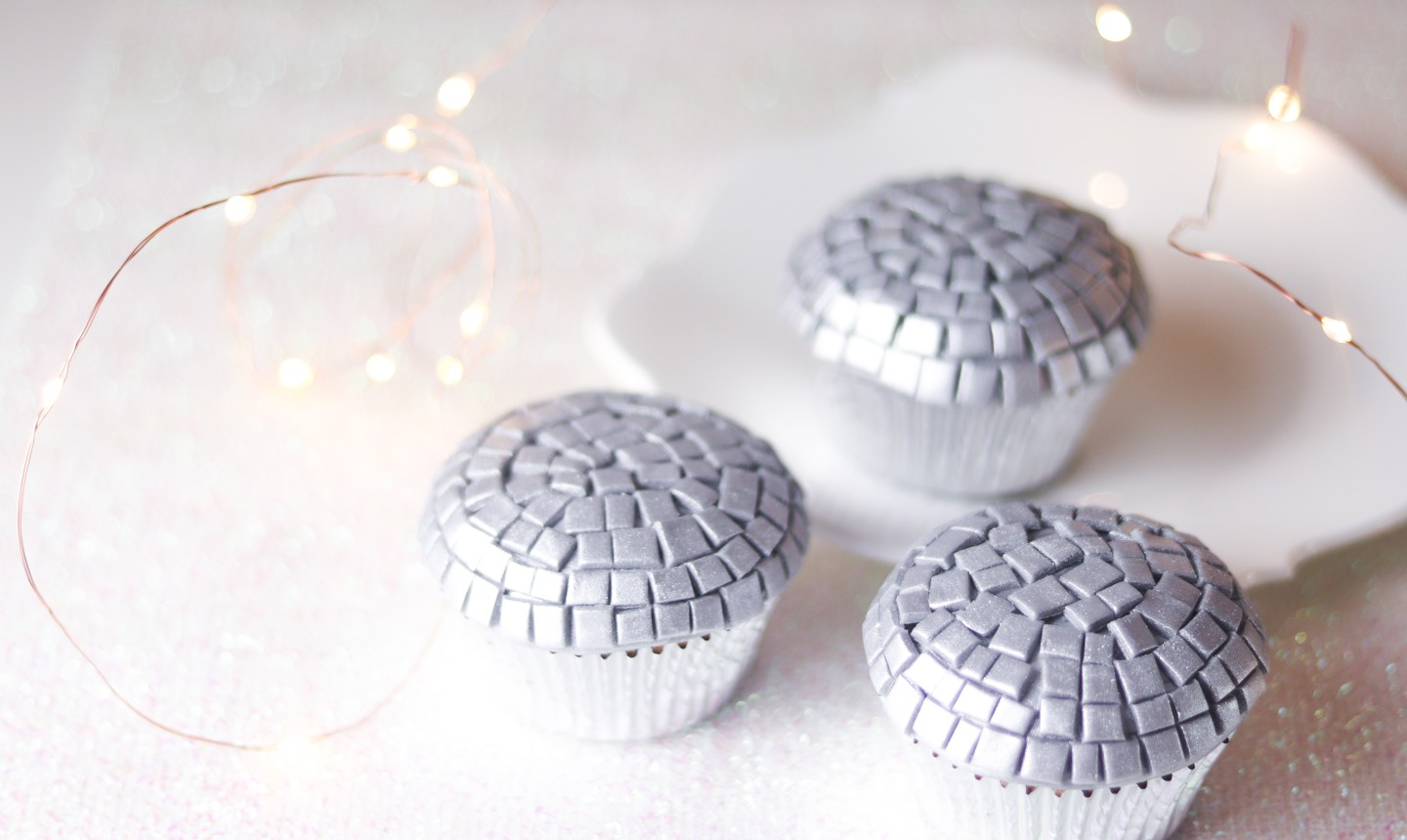 new years eve ball drop cupcakes