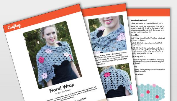 Craftsy Floral Warp Shawl Patter Titlecard