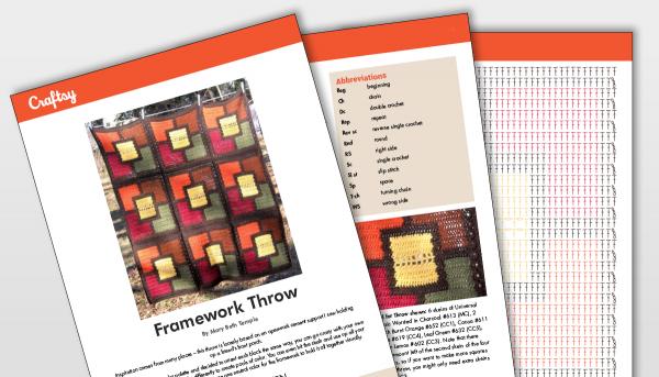 Craftsy Framework Throw Pattern Titlecard