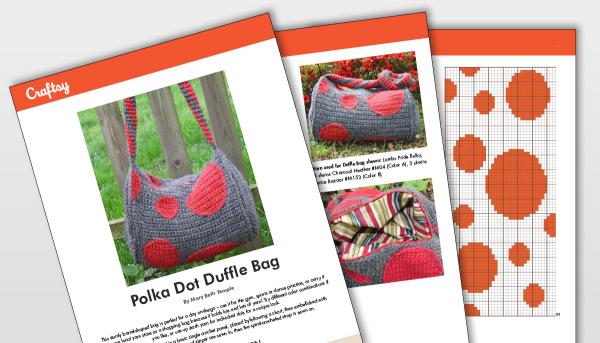 Craftsy Polka Dot Duffle Bad Pattern Titlecard