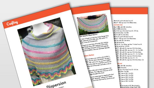 Dispersion Shawl Pattern Titlecard