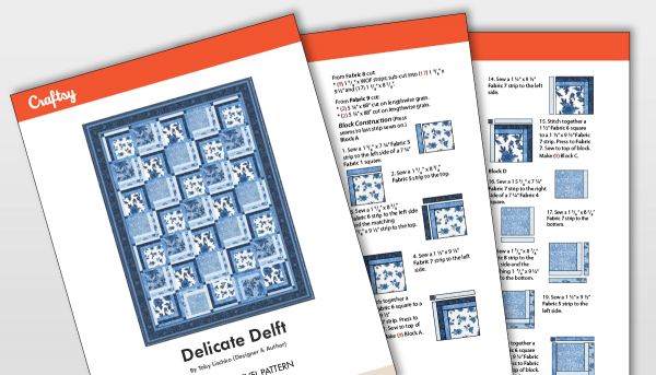 Delicate Draft Pattern Titlecard