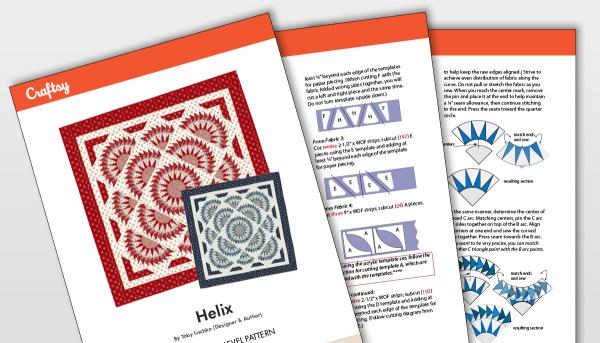 Helix Pattern Titlecard