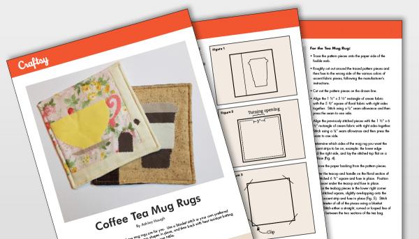 Coffee Tea Mug Rugs Pattern Titlecard