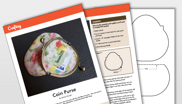 Craftsy Coin Purse Pattern Titlecard