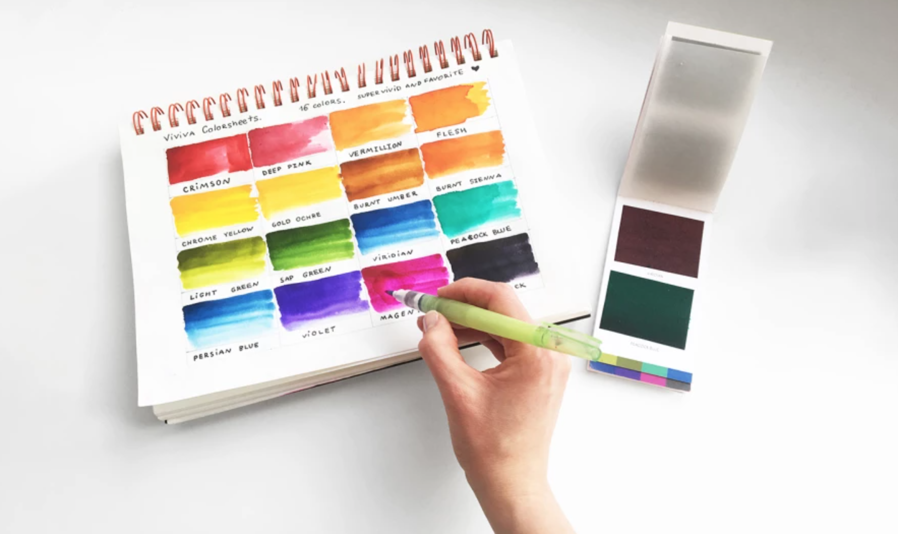 on the go watercolor kit