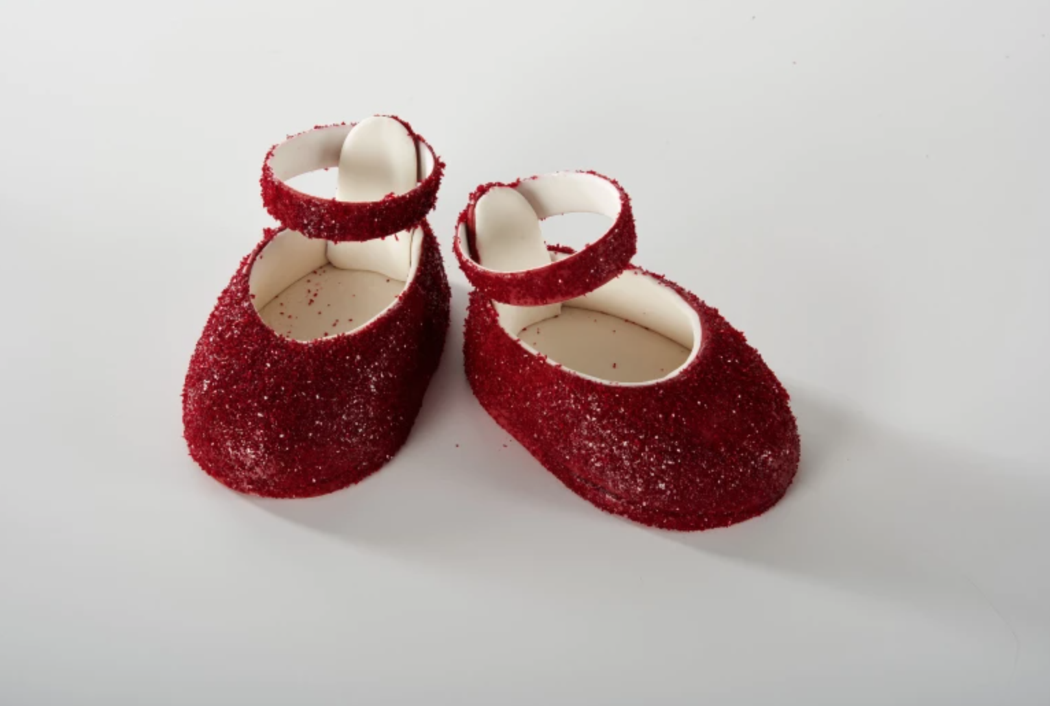fondant topper red ruby slippers
