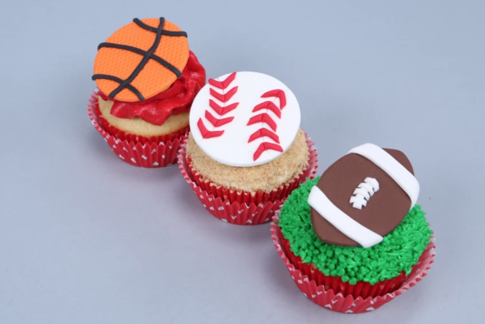 sports balls cake toppers