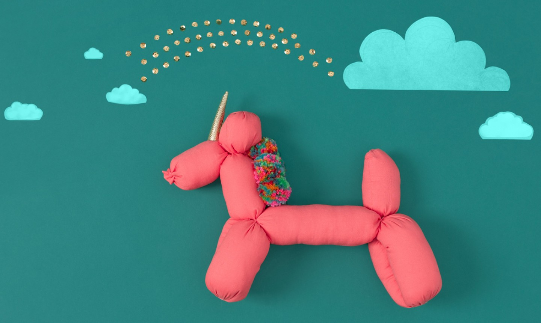 diy unicorn stuffy