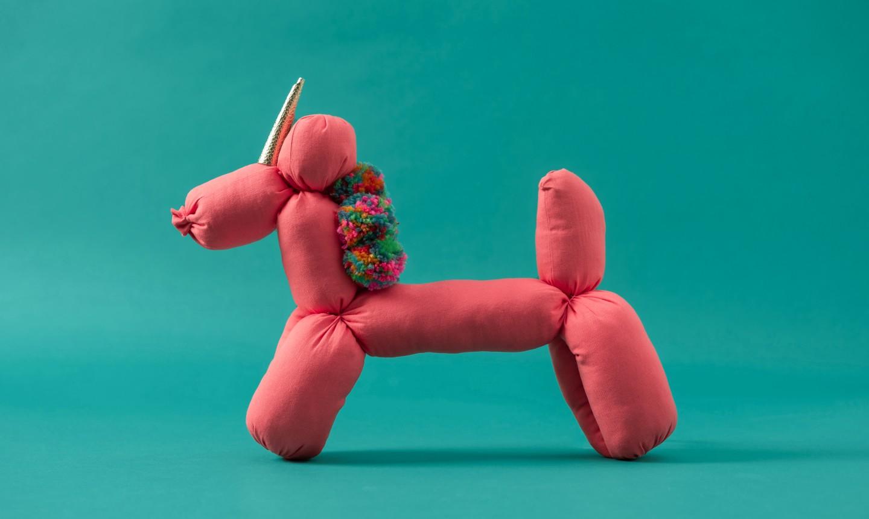 pink unicorn stuffy