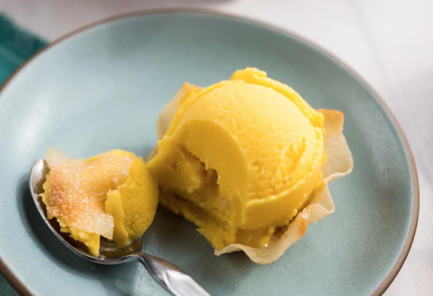 lemon fro-yo