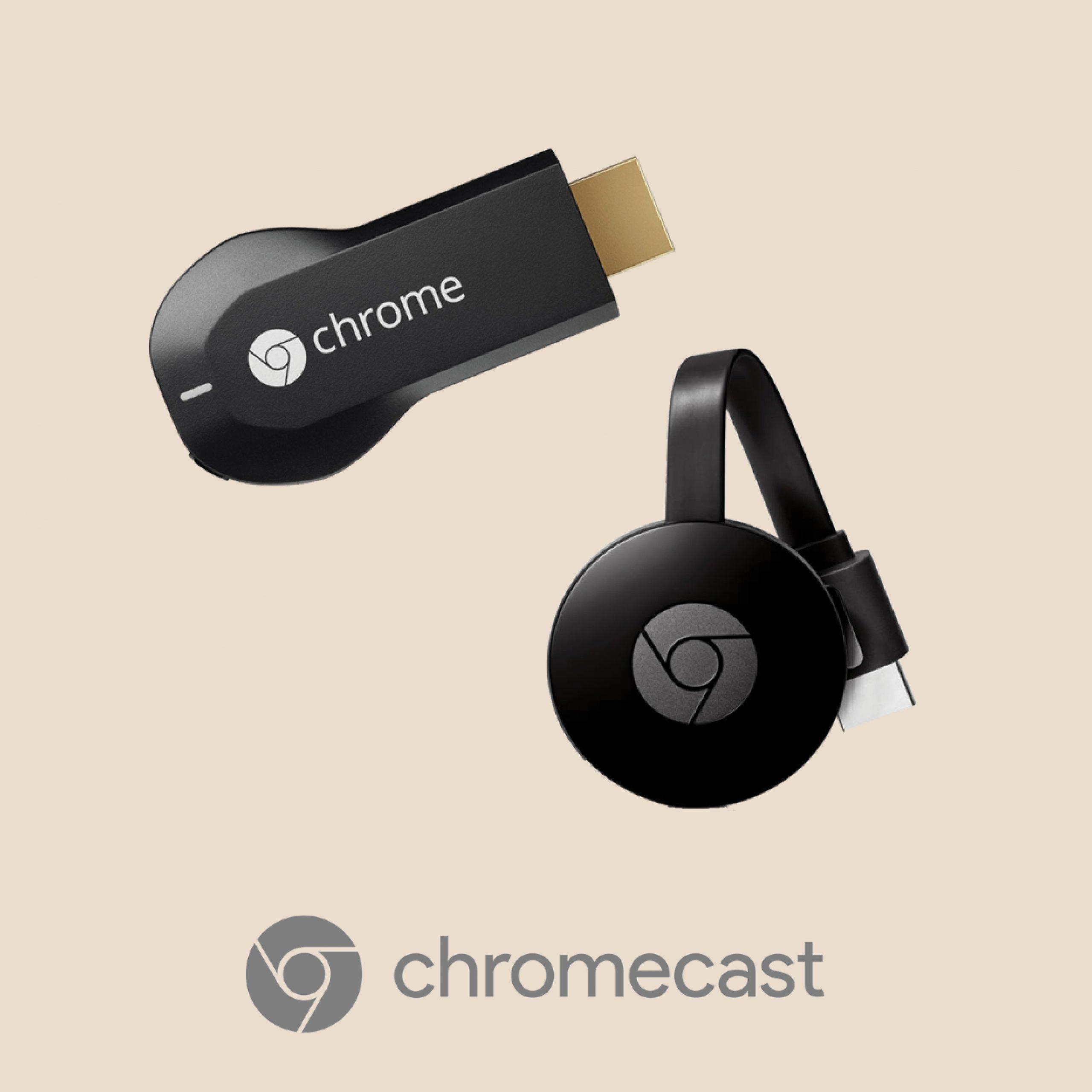 Stream using Google Chromecast
