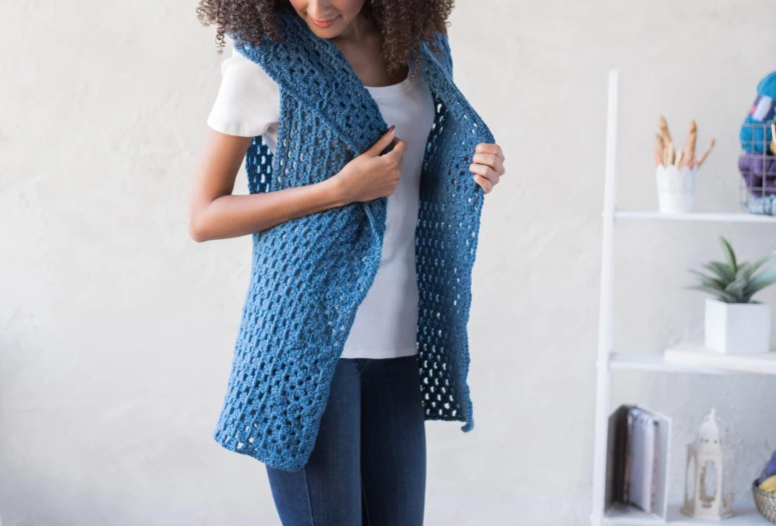 granny stitch vest