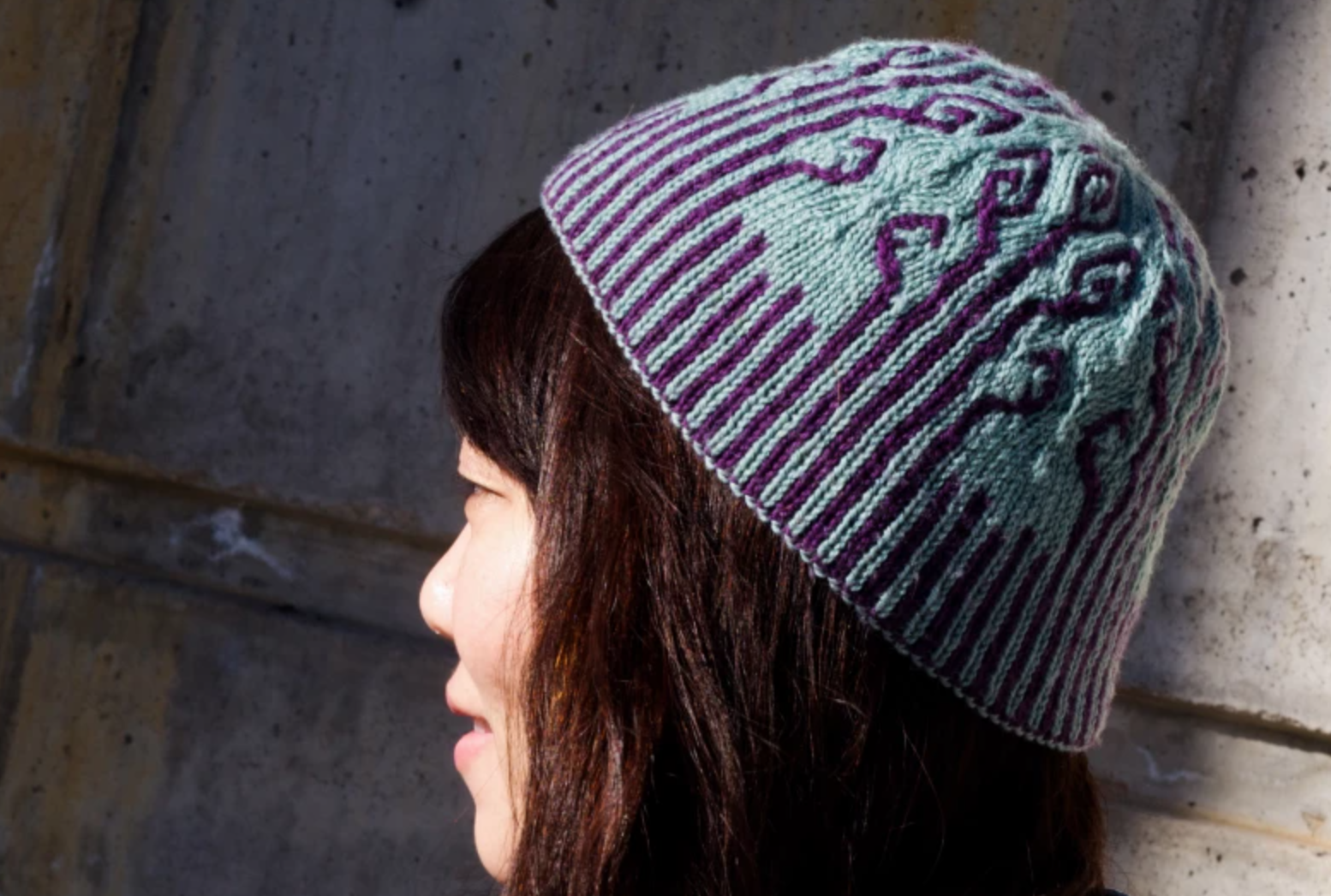 double knit hat