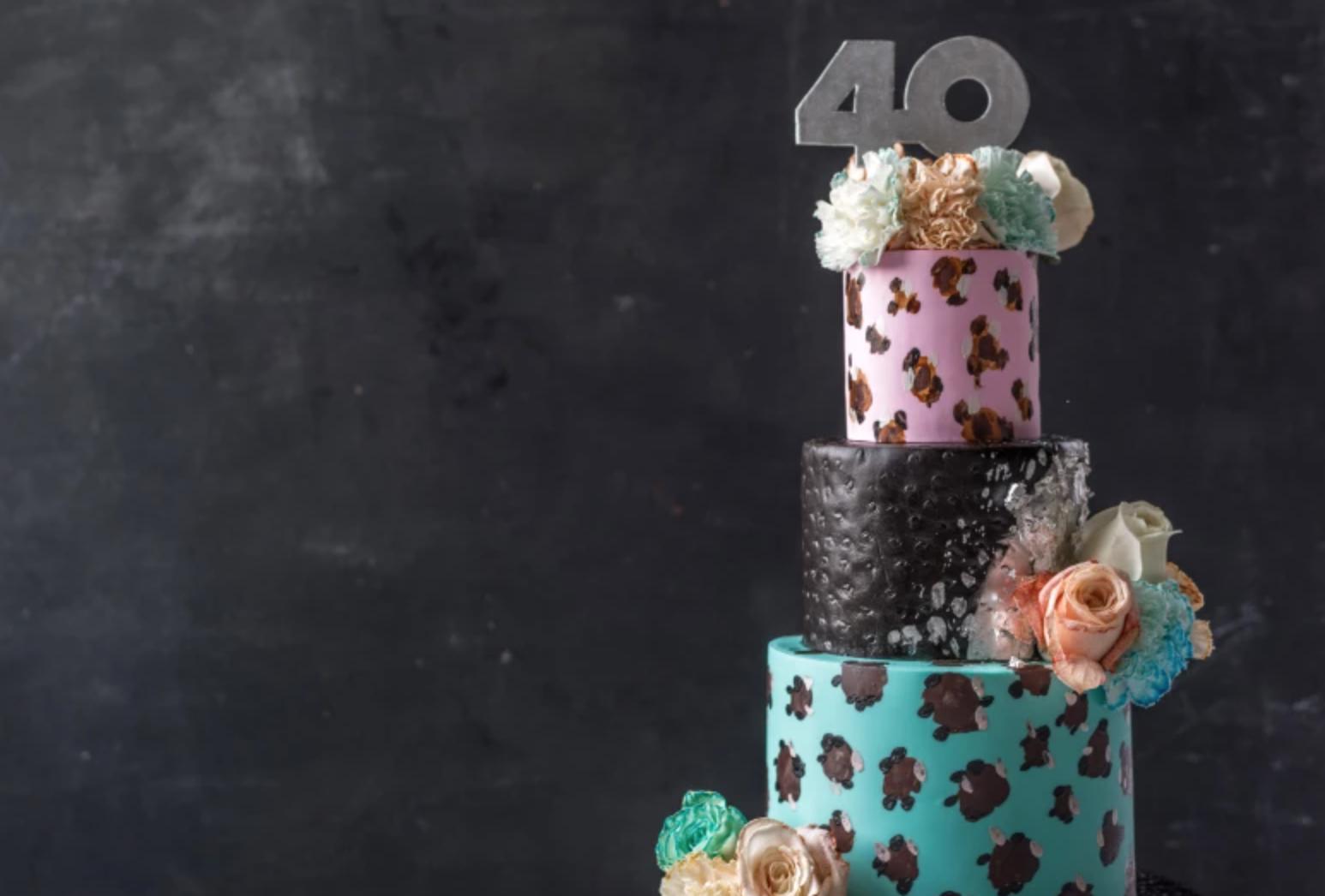 jjr 40th cake