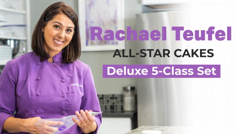 Rachael Teufel All-Star Cakes Deluxe 5-Class Set