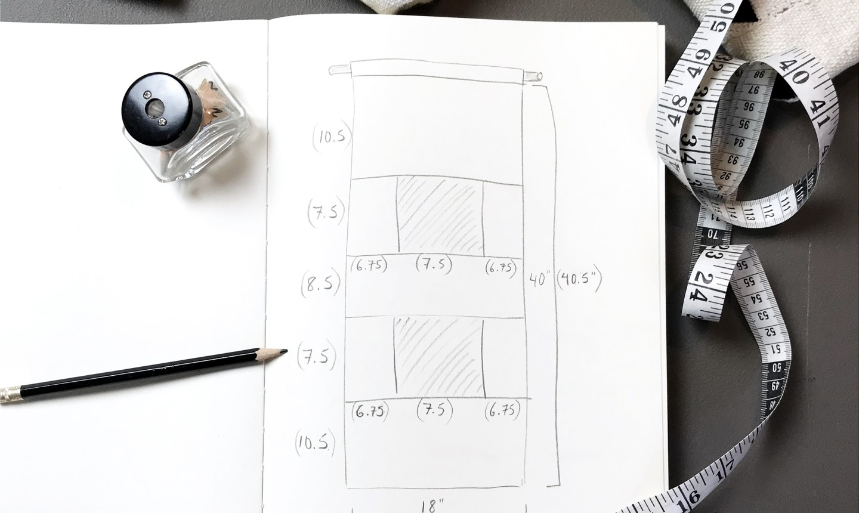 calculate mudcloth measurements