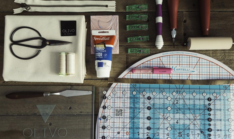 tools for zipper bag project