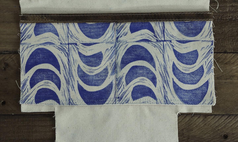 dividing zipper bag pocket