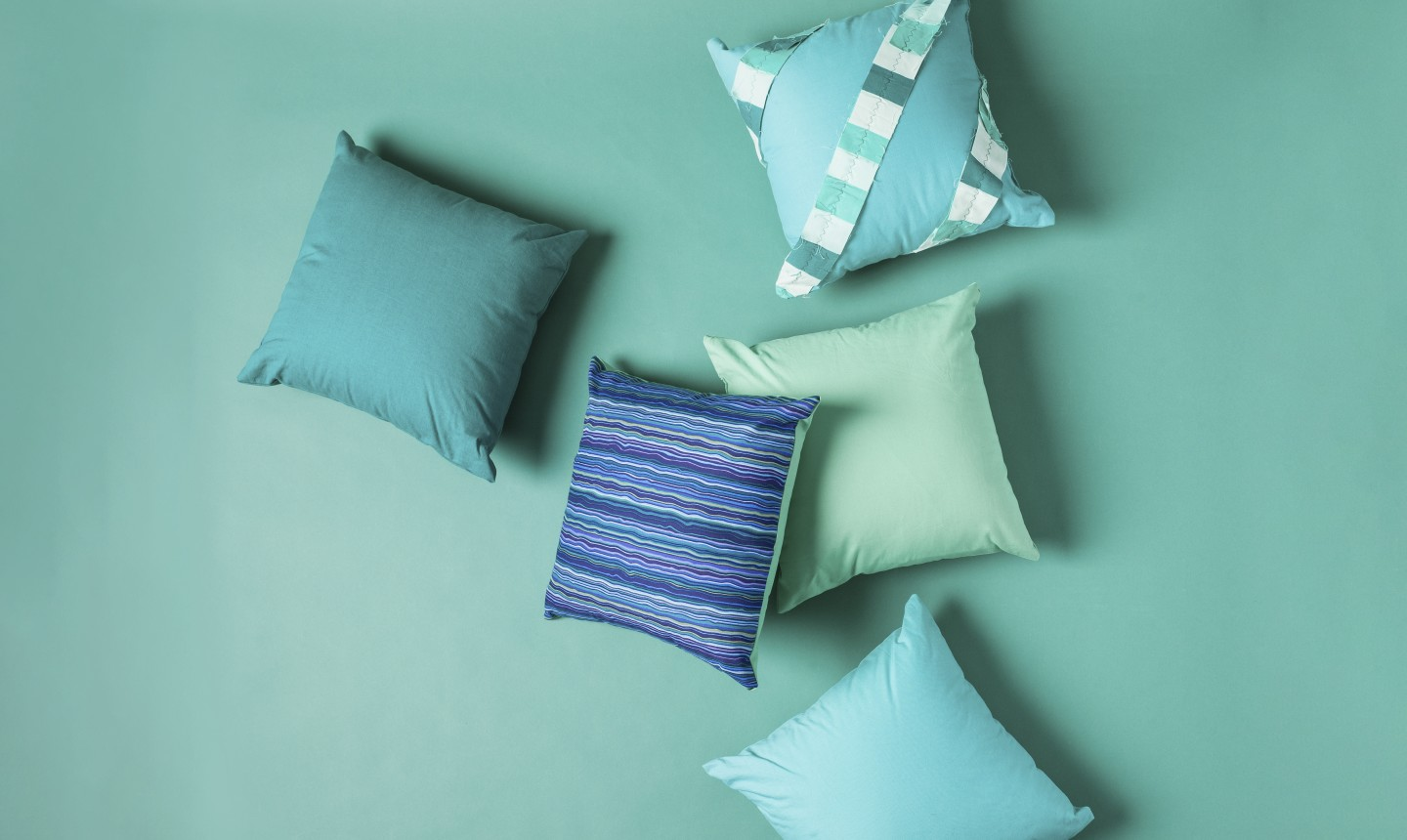 simple square pillows