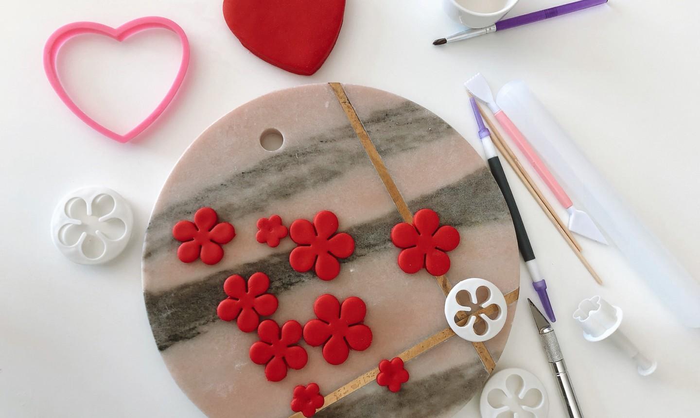 making fondant flowers