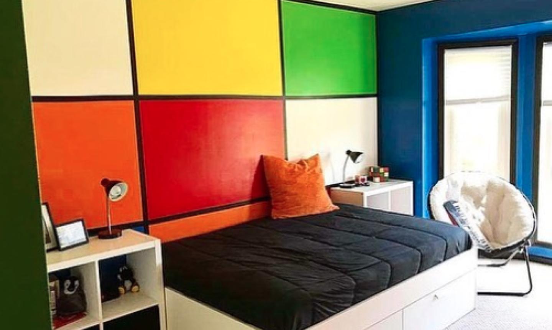 cubist children room